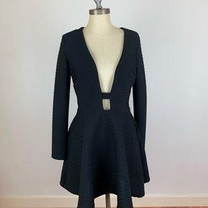 ASOS Textured Black Dress